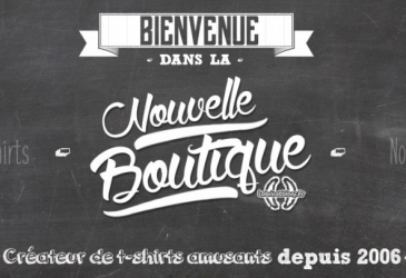 Nouvelle version de la boutique