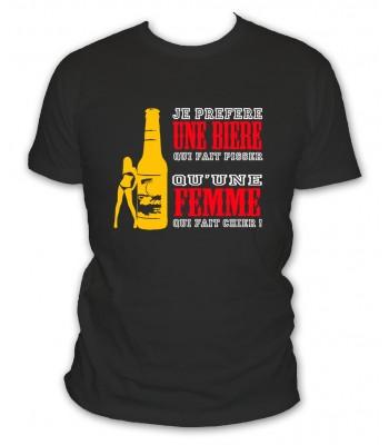 Je préfère une bière qui fait pisser