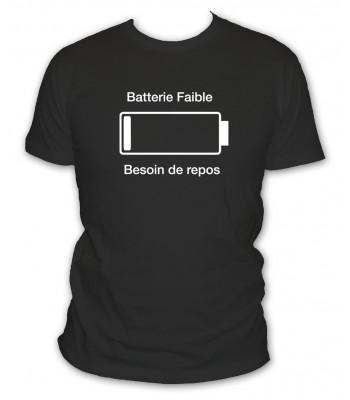 Batterie faible besoin de repos