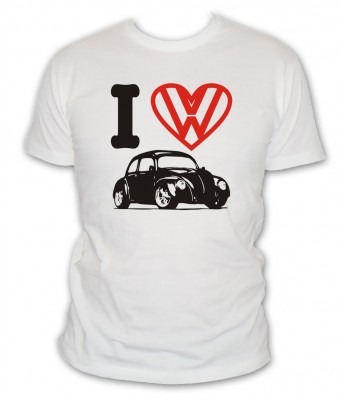 I Love VW Coccinelle ¾