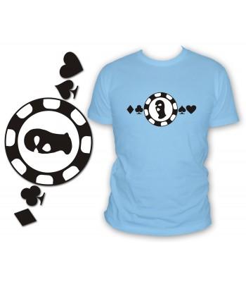 Poker face cagoule