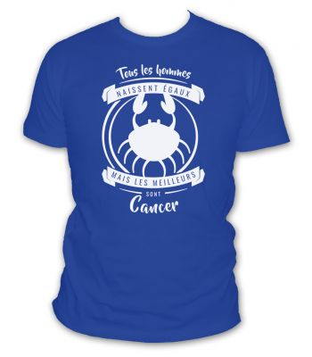 T-shirt cancer signe astrologique