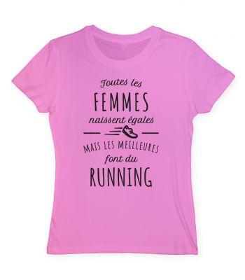 Toutes les femmes naissent égales mais les meilleures font du running