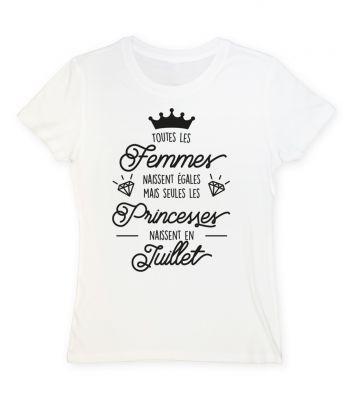 Toutes les femmes naissent égales mais seules les princesses naissent en juillet
