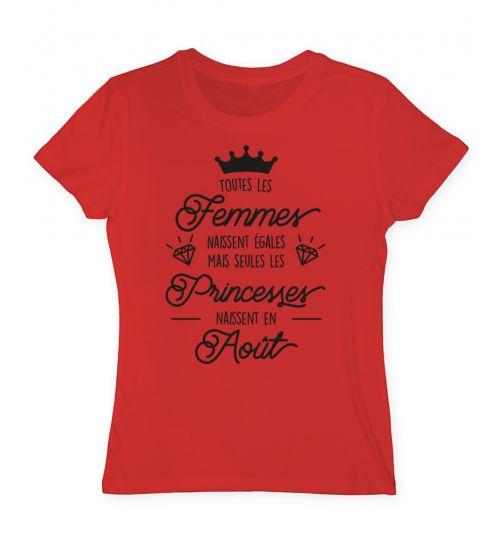 T shirt princesse