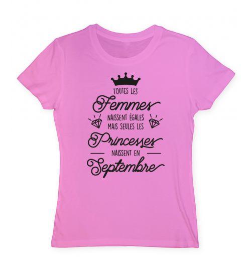 Toutes les femmes naissent égales mais seules les princesses naissent en septembre