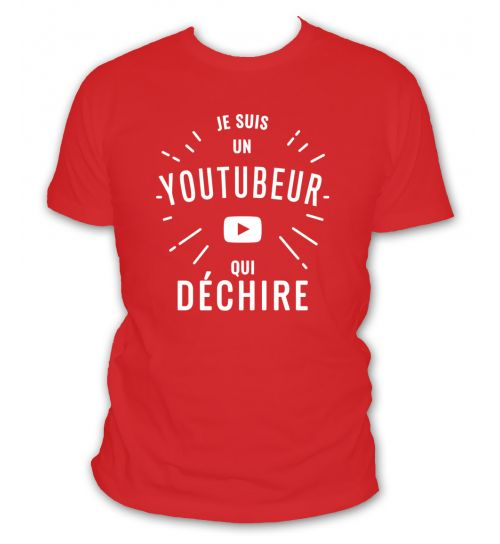 Tee shirt youtubeur