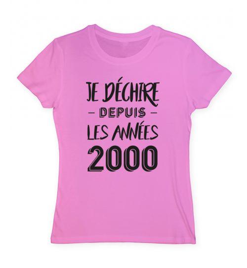 tee shirt année 2000