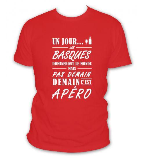 Un jour les basques domineront le monde mais pas demain demain c'est apéro