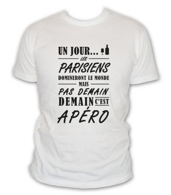 Un jour les parisiens domineront le monde mais pas demain demain c'est apéro