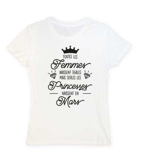 Toutes les femmes naissent égales mais seules les princesses naissent en mars