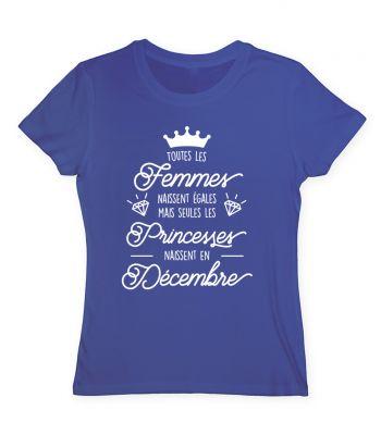 Toutes les femmes naissent égales mais seules les princesses naissent en décembre
