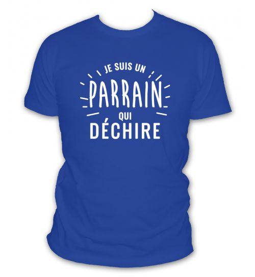 T Shirt Je Suis Un Parrain Qui Déchire