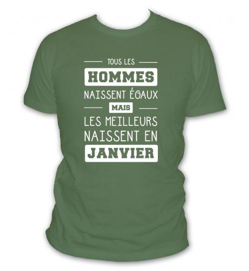Tee shirt janvier