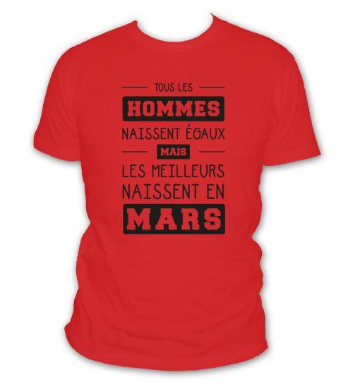 T shirt mars