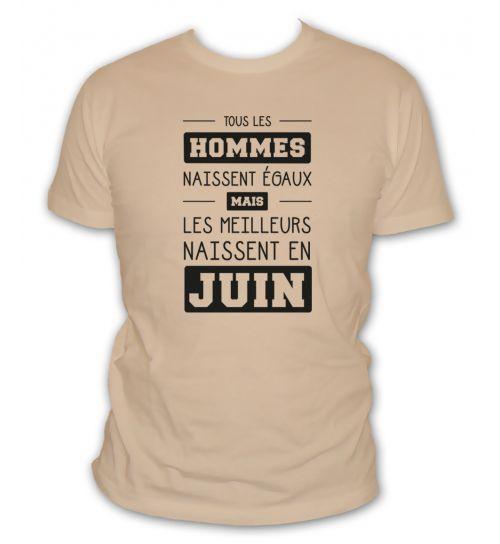 T shirt juin