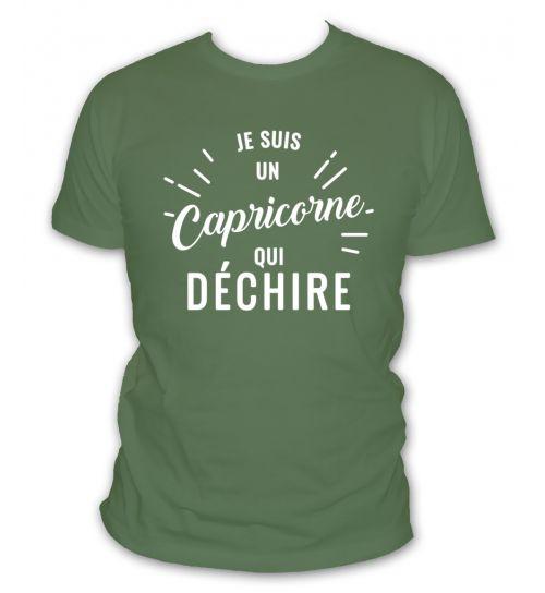 tee shirt capricorne