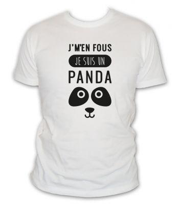 je m'en fou je suis un panda