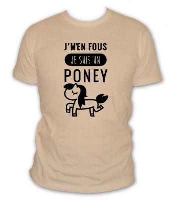 je m'en fou je suis un poney