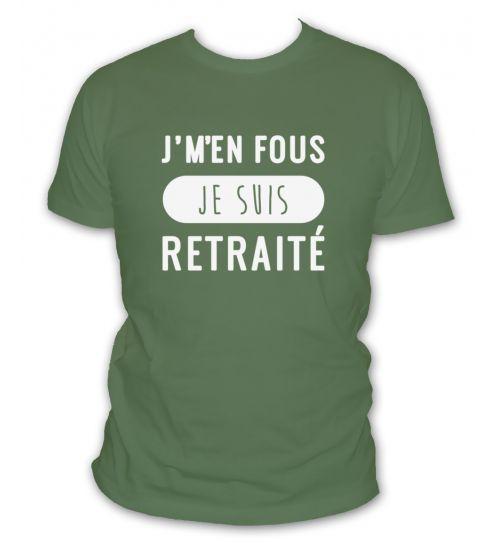 tee shirt retraité