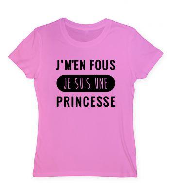 je m'en fou je suis une princesse