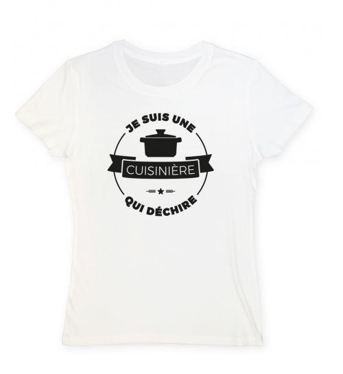 Tee shirt cuisiniere