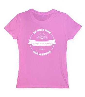 Tee shirt maman