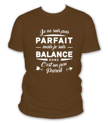 Tee shirt balance