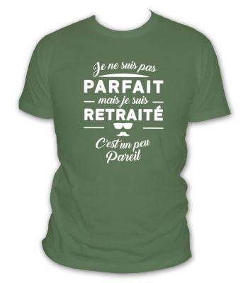 je ne suis pas parfait mais je suis retraité