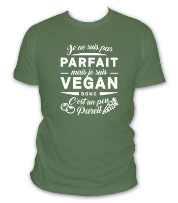je ne suis pas parfait mais je suis vegan