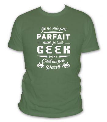 je ne suis pas parfait mais je suis geek