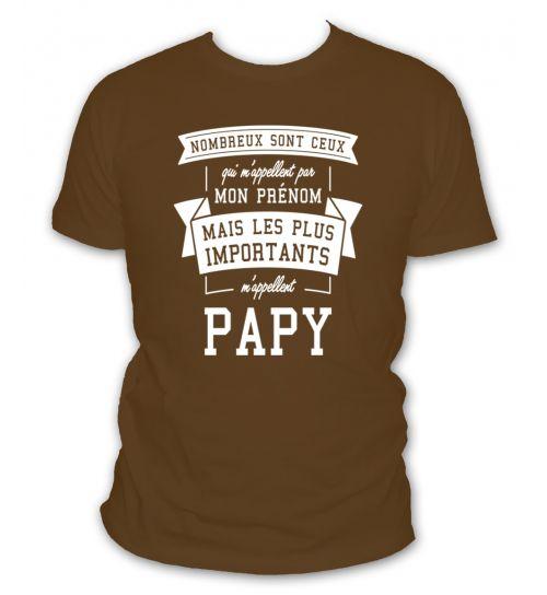 Nombreux sont ceux qui m'appelent par mon prénom mais les plus importants m'appellent papy