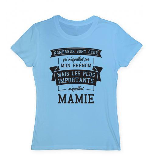 Tee shirt mamie