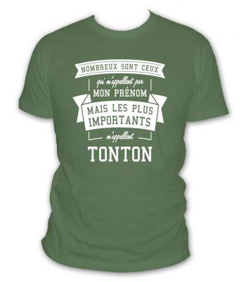 Nombreux sont ceux qui m'appelent par mon prénom mais les plus importants m'appellent tonton