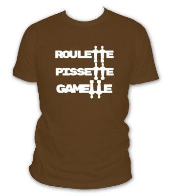 Roulette pissette gamelle
