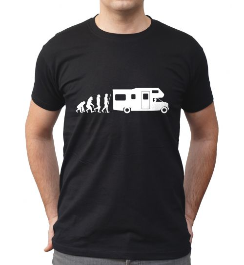 T-shirt camping car