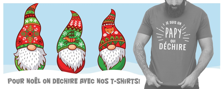 T-shirt cadeaux de noel