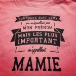 Nombreux sont ceux qui m'appelent par mon prénom mais les plus importants m'appellent mamie
