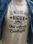 Je ne suis pas vieux mais vintage