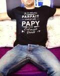 T-shirt meilleur papy