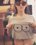 T-shirt nichons