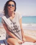 T-shirt je suis libre comme mes seins