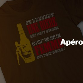 T-shirts Apero